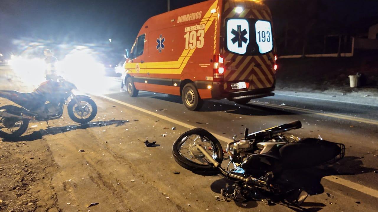 Acidente deixa três pessoas feridas na SC-350 em Ituporanga