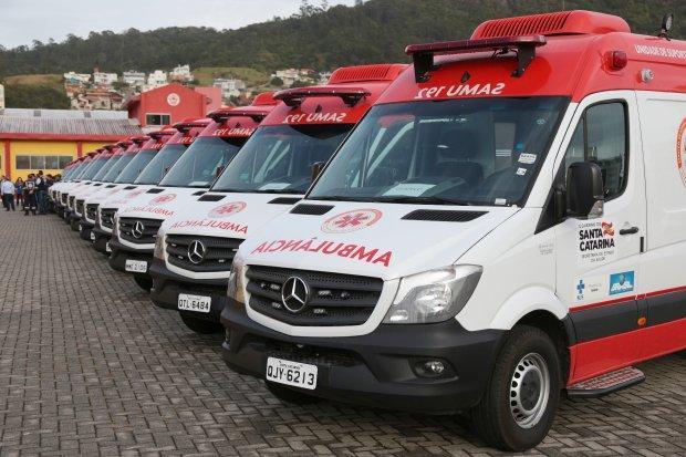 Com aquisição de 18 ambulâncias, Samu renova 80% da frota