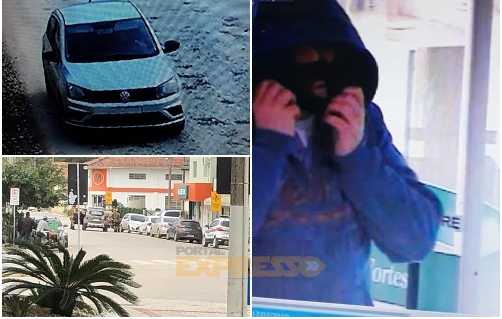 Cresol de Atalanta é assaltada e polícia segue buscas por assaltante