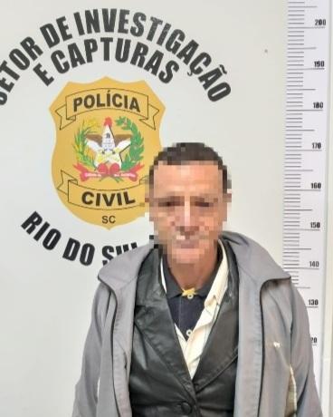 Polícia Civil cumpre mandado de prisão em Rio do Sul