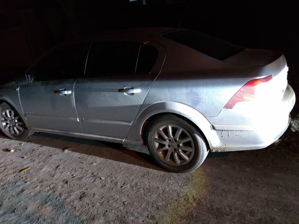 Carro com registro de furto é encontrado em Agrolândia