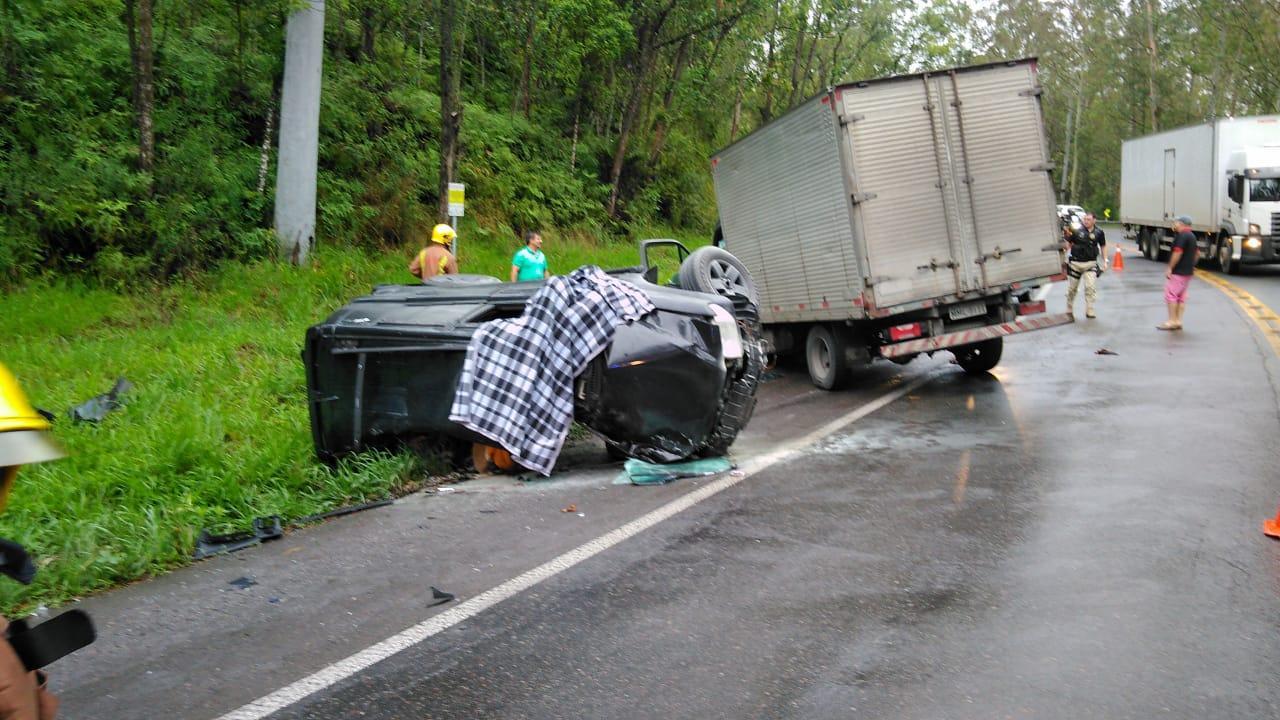 Acidente na BR 470 em Ibirama tem vítima fatal