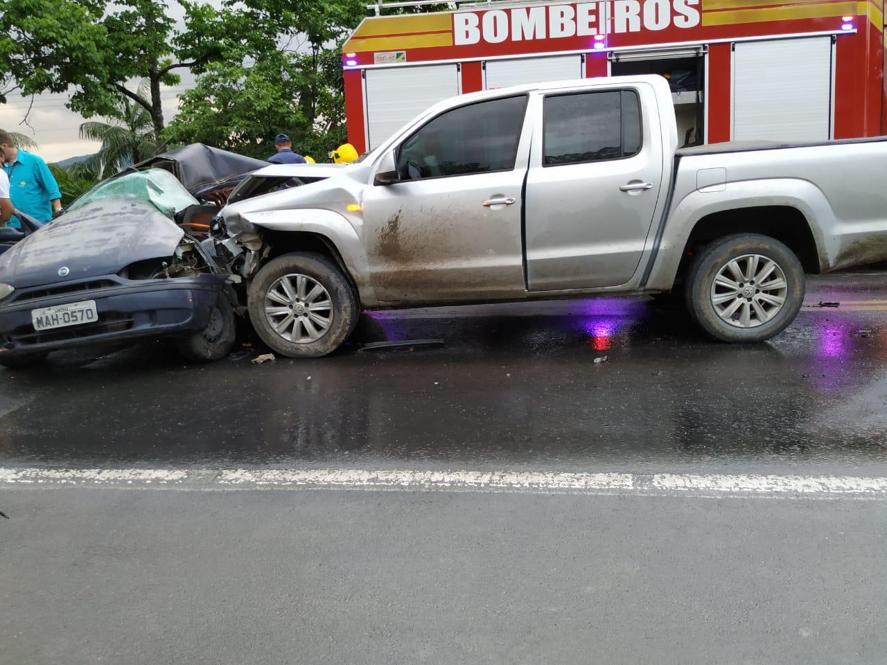 Homem morre em acidente na BR 470 em Rio do Sul