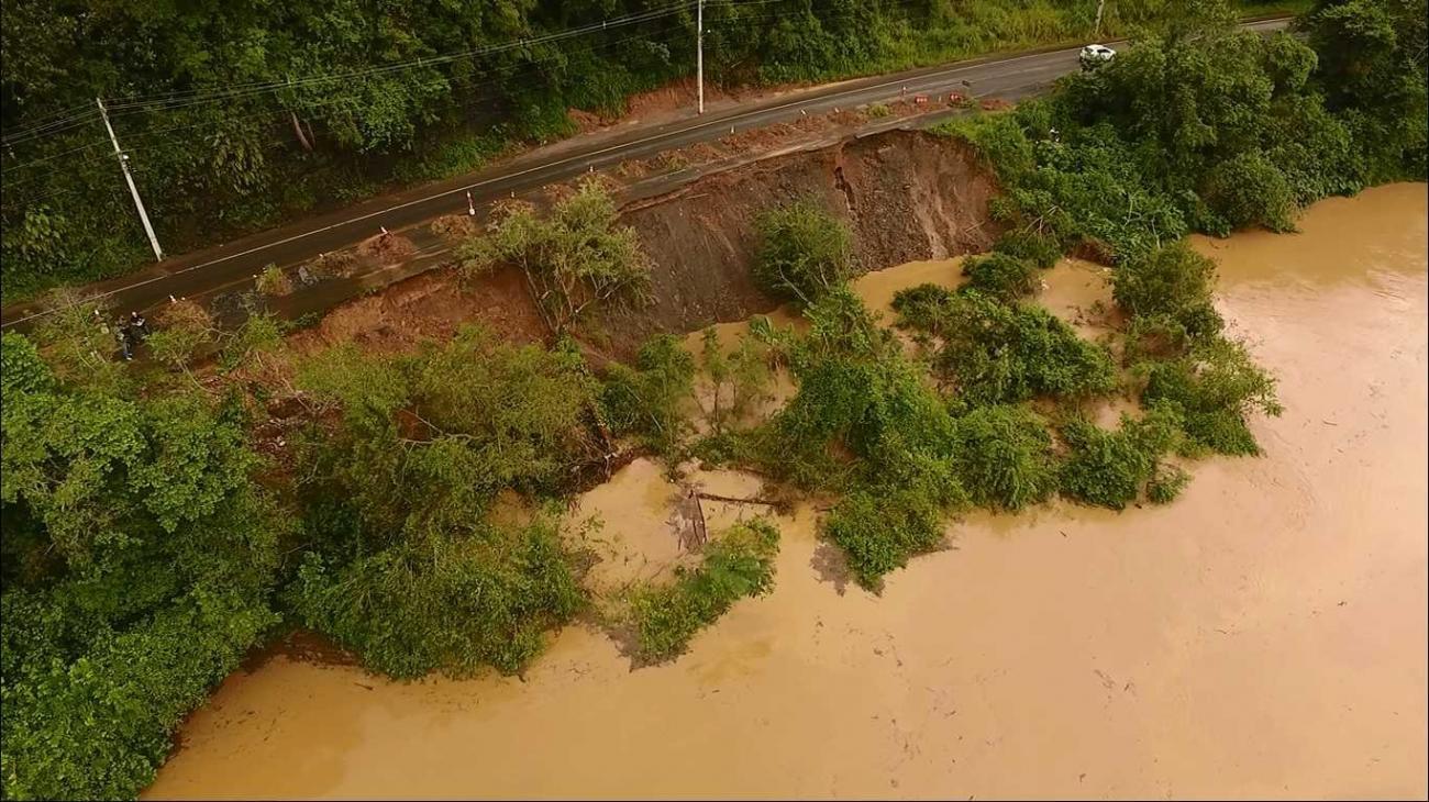 Defesa Civil interditará via de acesso entre Rio do Sul e Lontras