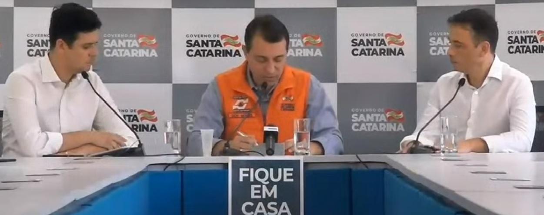 Santa Catarina confirma 51 casos da covid-19 no Estado até a manhã deste sábado