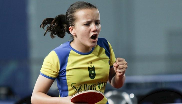 Mahayla Sardá conquista duas medalhas no Campeonato Brasileiro de Tênis de Mesa