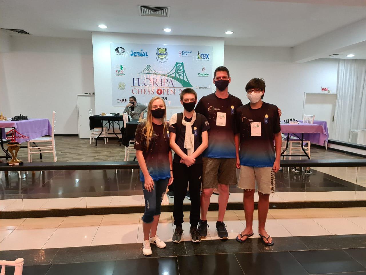 Enxadristas rio-sulenses disputaram Floripa Chess Open
