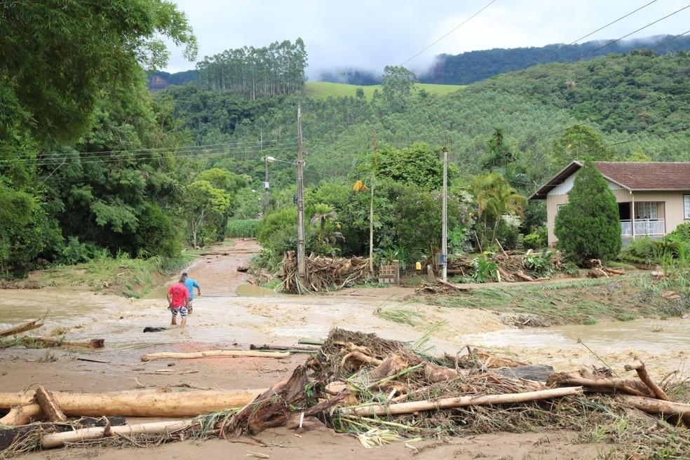 Perdas na agricultura do Alto Vale após enxurrada chegam a R$ 17 milhões
